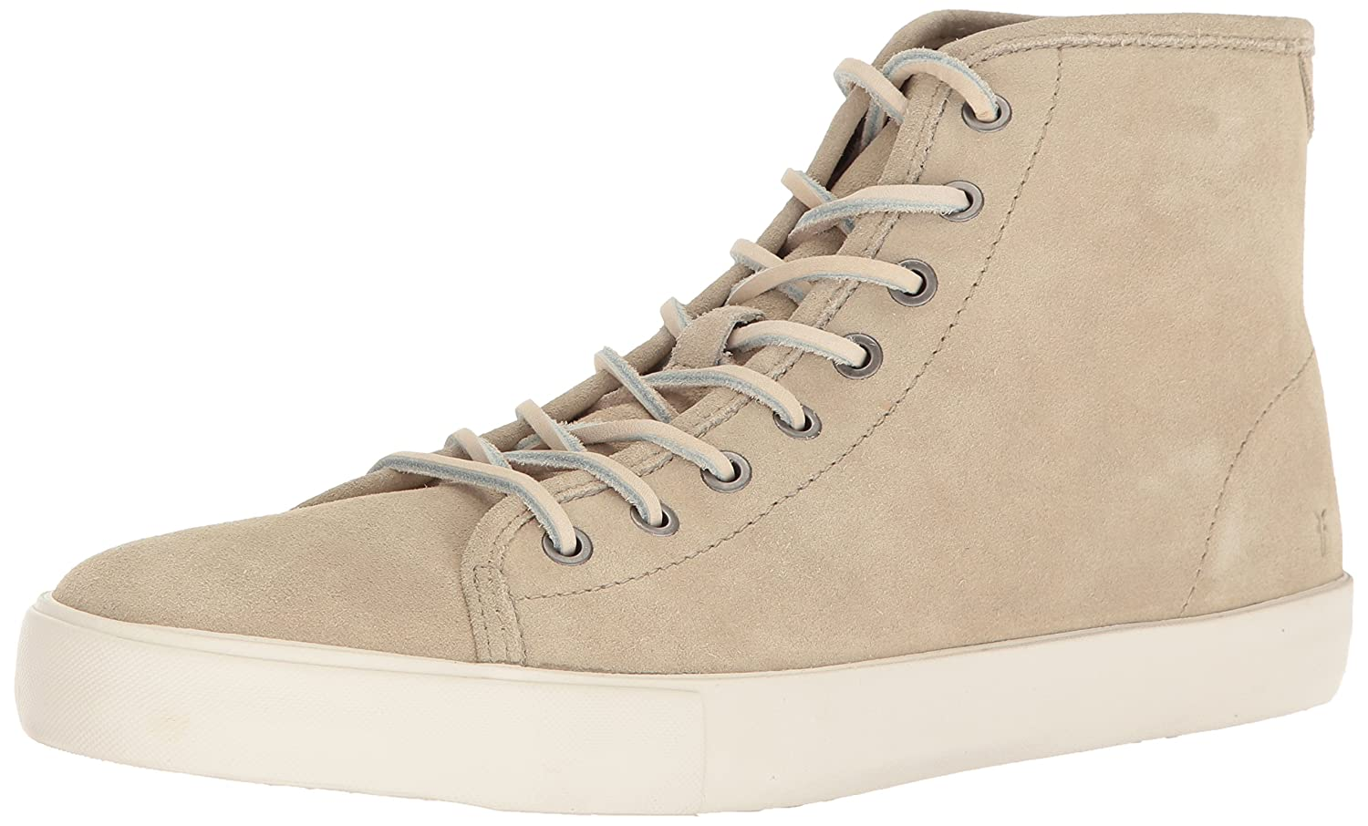 FRYE Men's Brett High Tennis Shoe B01H3XWJGO 8.5 D(M) US|Bone