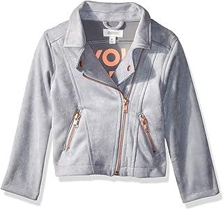 Gymboree Girls' Big Leather Moto Jacket,