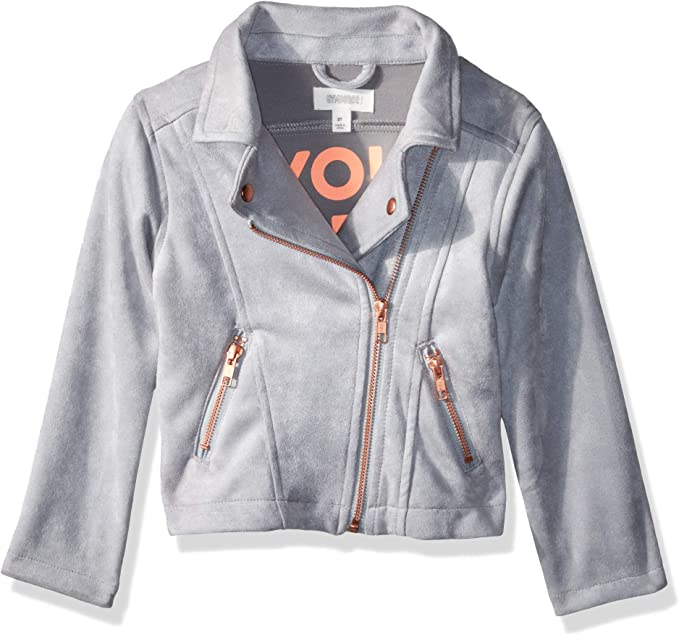 Amazon.com: Gymboree - Chaqueta de piel para niña, 3T: Clothing
