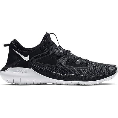 Amazon.com | Nike Women's Flex 2019 RN Running Shoe Black/White ...
