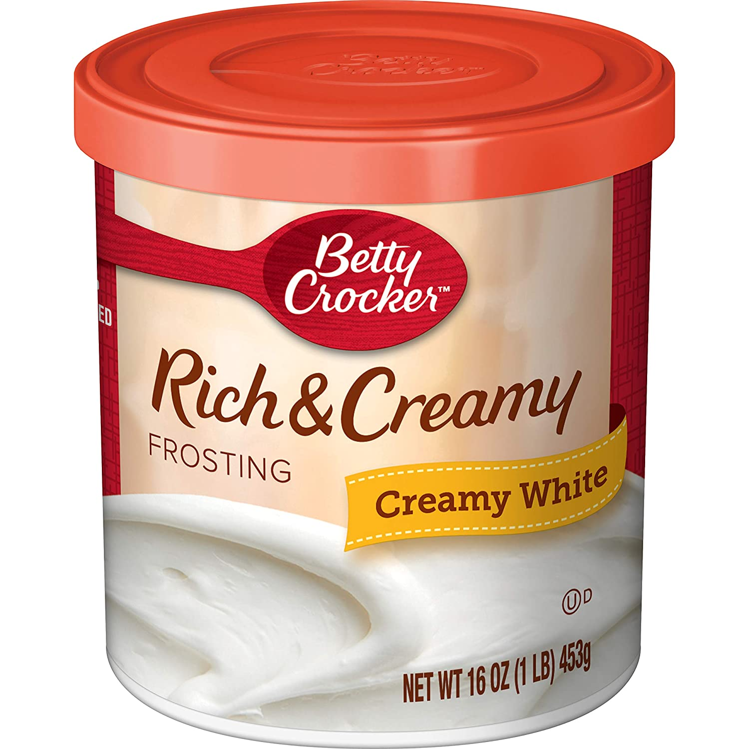 Betty Crocker Rich and Creamy White Frosting, 16 oz