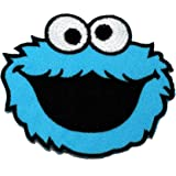 Cookie Monster Sesame Street DIY Embroidered Sew Iron on Patch