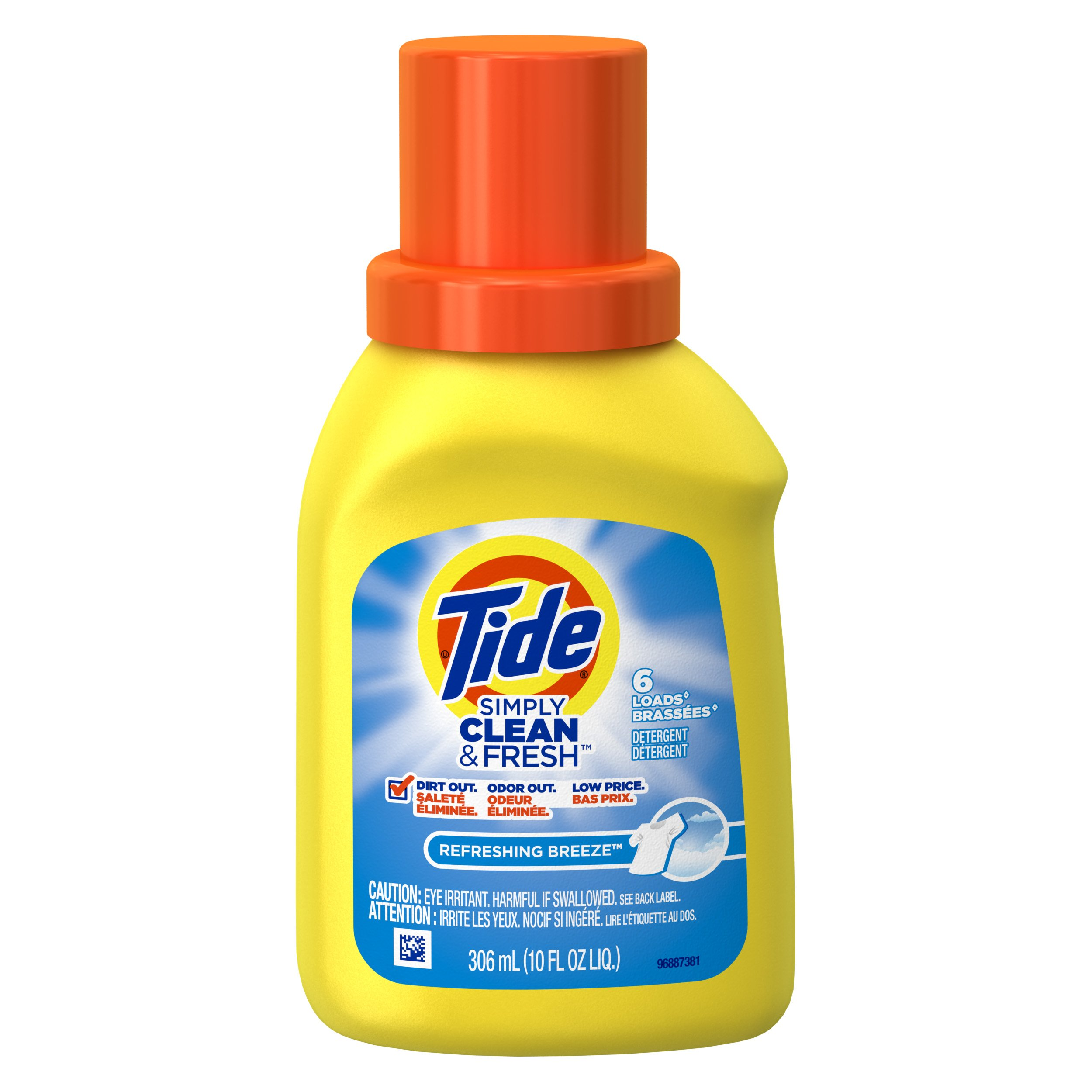 Amazon.com: Travel Size Tide 10oz Refreshing Breeze Laundry Detergent (Pack of 2): Health & Personal Care