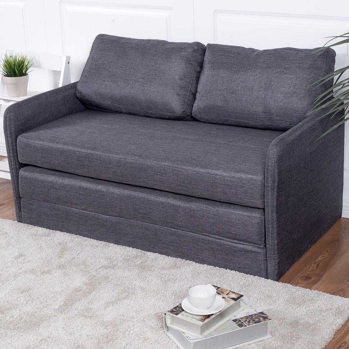 Amazon Giantex Foldable Sleeper Sofa Bed Couch Loveseat