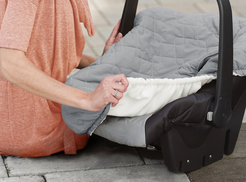 JJ Cole Car Seat Cover For Infants Graphite