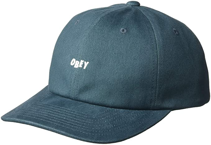 Amazon.com  Obey Men s Cutty 6 Panel Snapback HAT 12927449e711