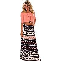 Joansam Tendril Printed Maxi Skirt