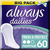 Always - Protège-Slips Normal - Gros Format x 60