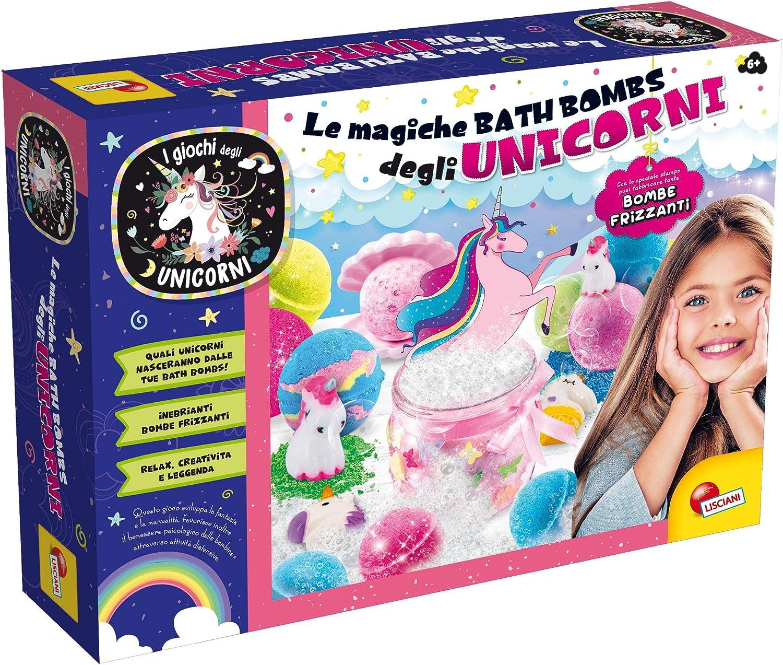 Create Bath Bombs des Licornes Lisciani Giochi 77014 Jeu pour Enfant