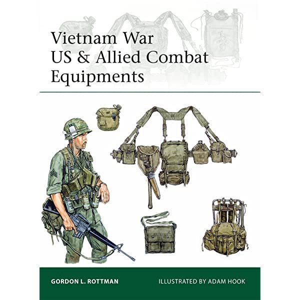 Vietnam War Us Allied Combat Equipments Elite Rottman Gordon L Hook Adam 9781472819055 Amazon Com Books