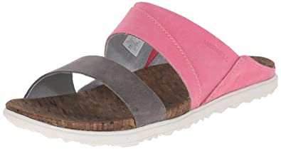 Merrell Womens Around Town Slide Sandal Rose
