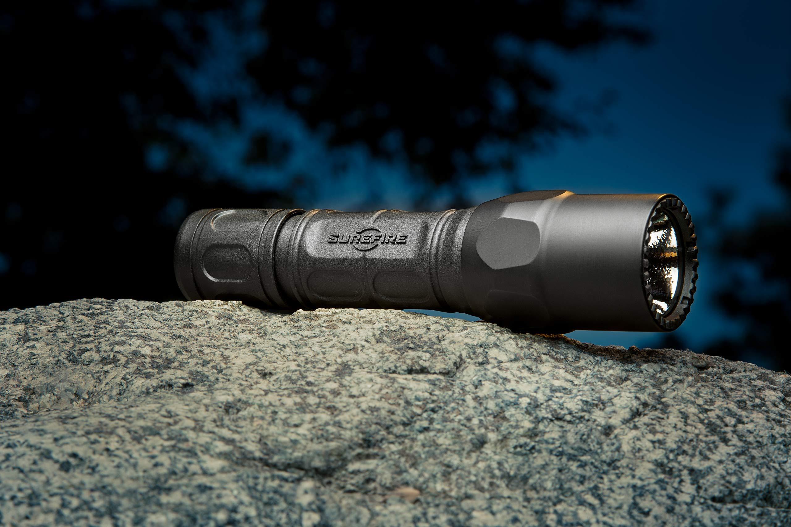 SureFire G2X Pro Dual-Output LED Flashlight with Click Switch, Black by SureFire (Image #4)