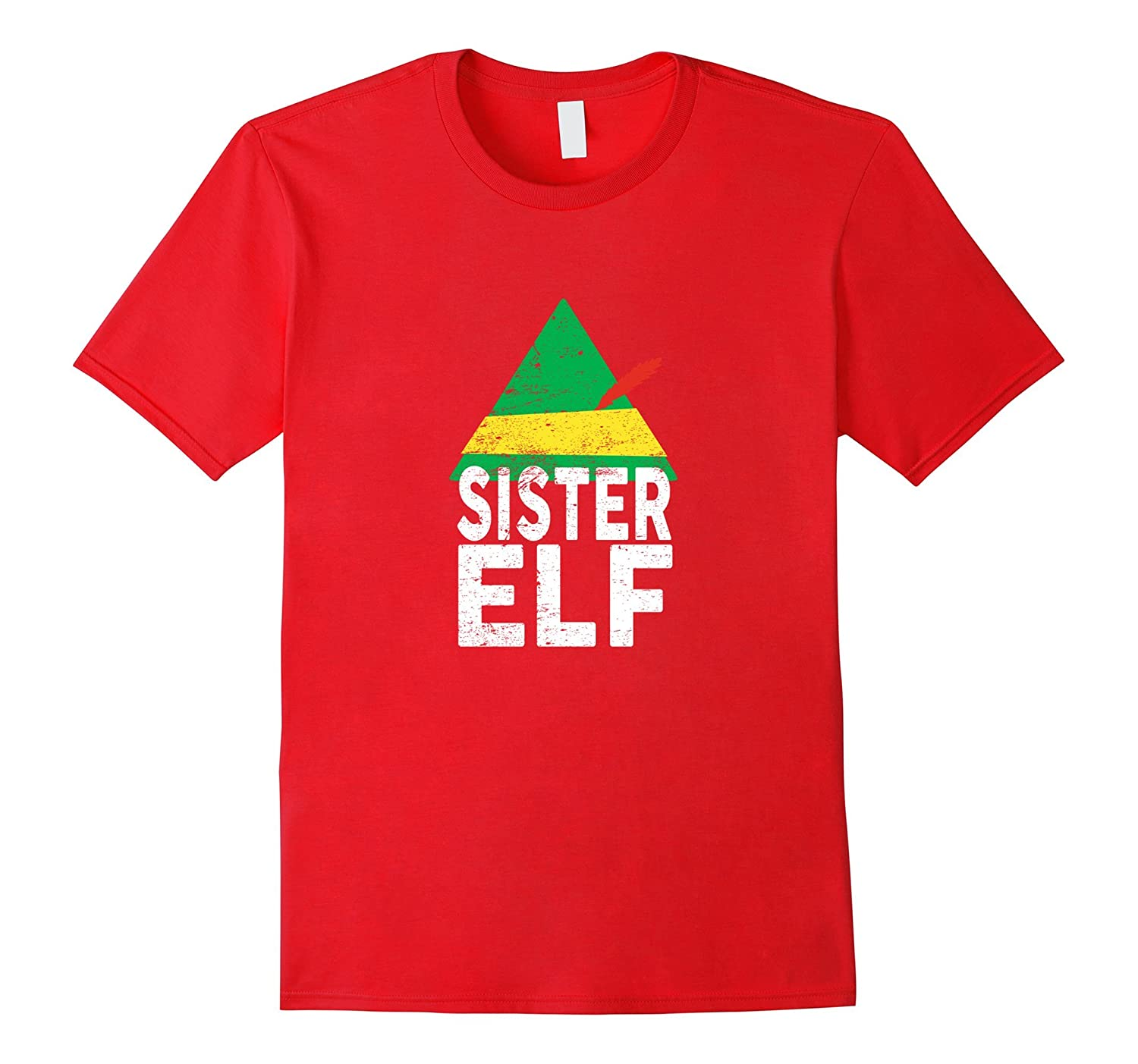 Sister ELF Christmas Season Matching Tshirt Men Women Youth-FL