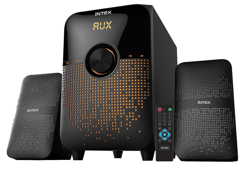 Intex IT-213 SUFB 2 1 Channel Multimedia Speakers (Black)