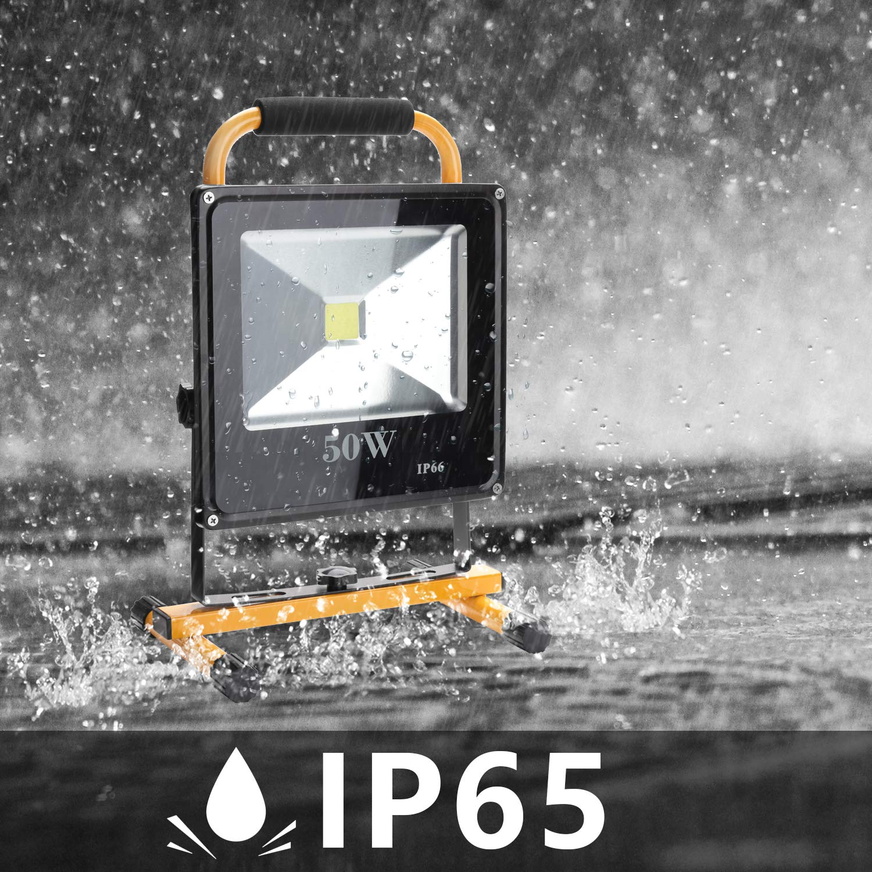 Hengda/® 30W LED Kaltwei/ß Fluter Spot 6000-6500K Industrie Fluter Scheinwerfer Wasserdicht Leucht 1800LM Strahler