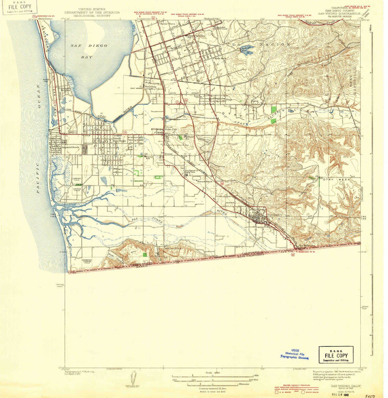 San Isidro California Map.Amazon Com Yellowmaps San Ysidro Ca Topo Map 1 31680 Scale 7 5 X