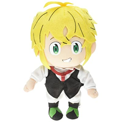 "GE Animation GE-52214 The Seven Deadly Sins Stuffed Meliodas Plush, 8.5"": Toys & Games"