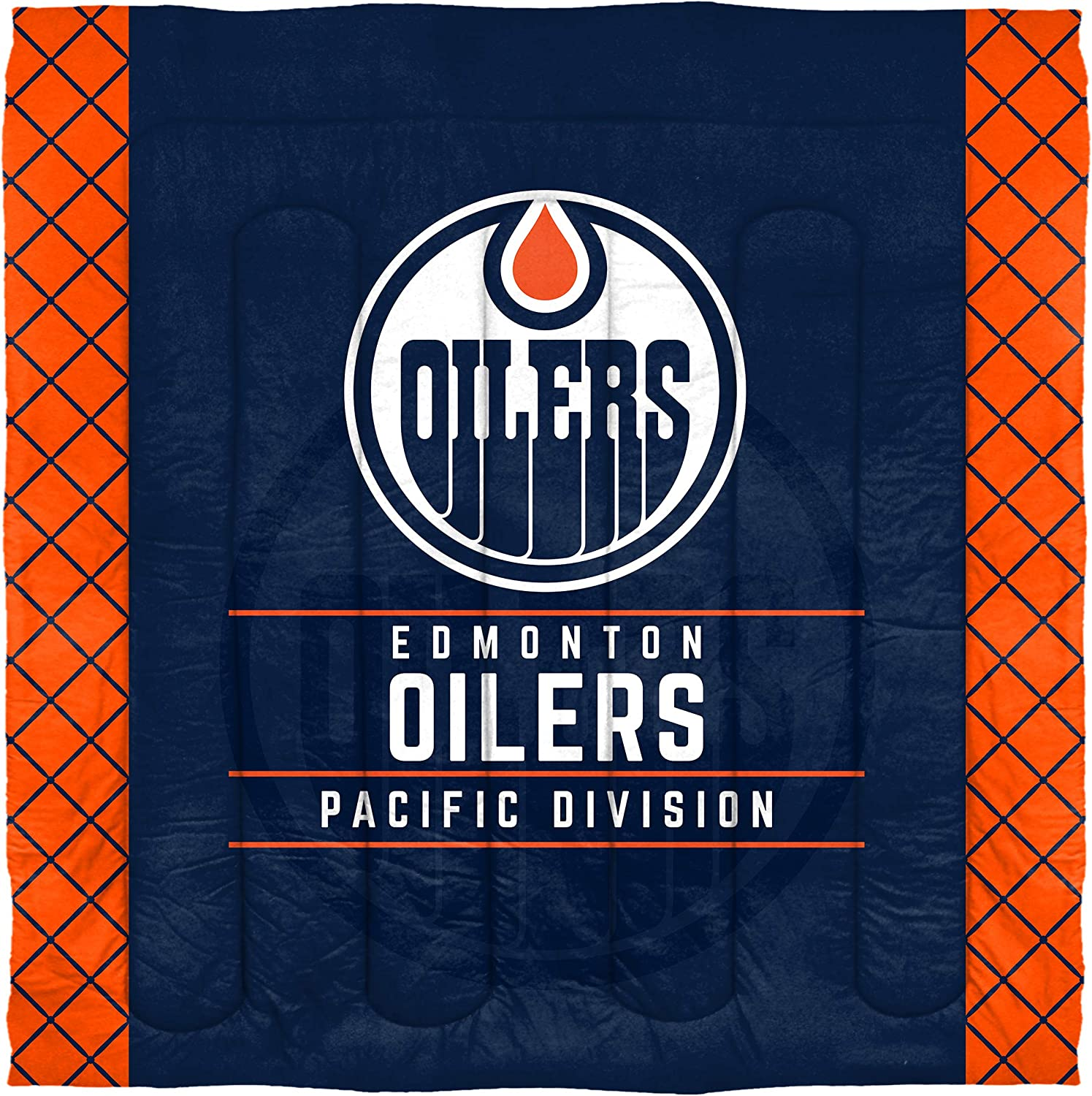 Multi Color Multiple Sizes The Northwest Company Officially Licensed NHL Draft Comforter and 2 Sham Set