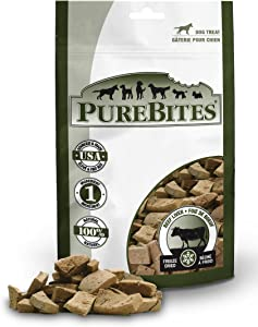 PureBites Freeze Dried RAW Beef Liver Treat for Dogs