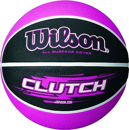 Wilson Clutch Balón, Unisex, Negro/Rosa, 6: Amazon.es: Deportes y ...