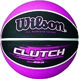 Wilson Clutch 28.5 Inch Pink/Black basketball, Intermediate Size