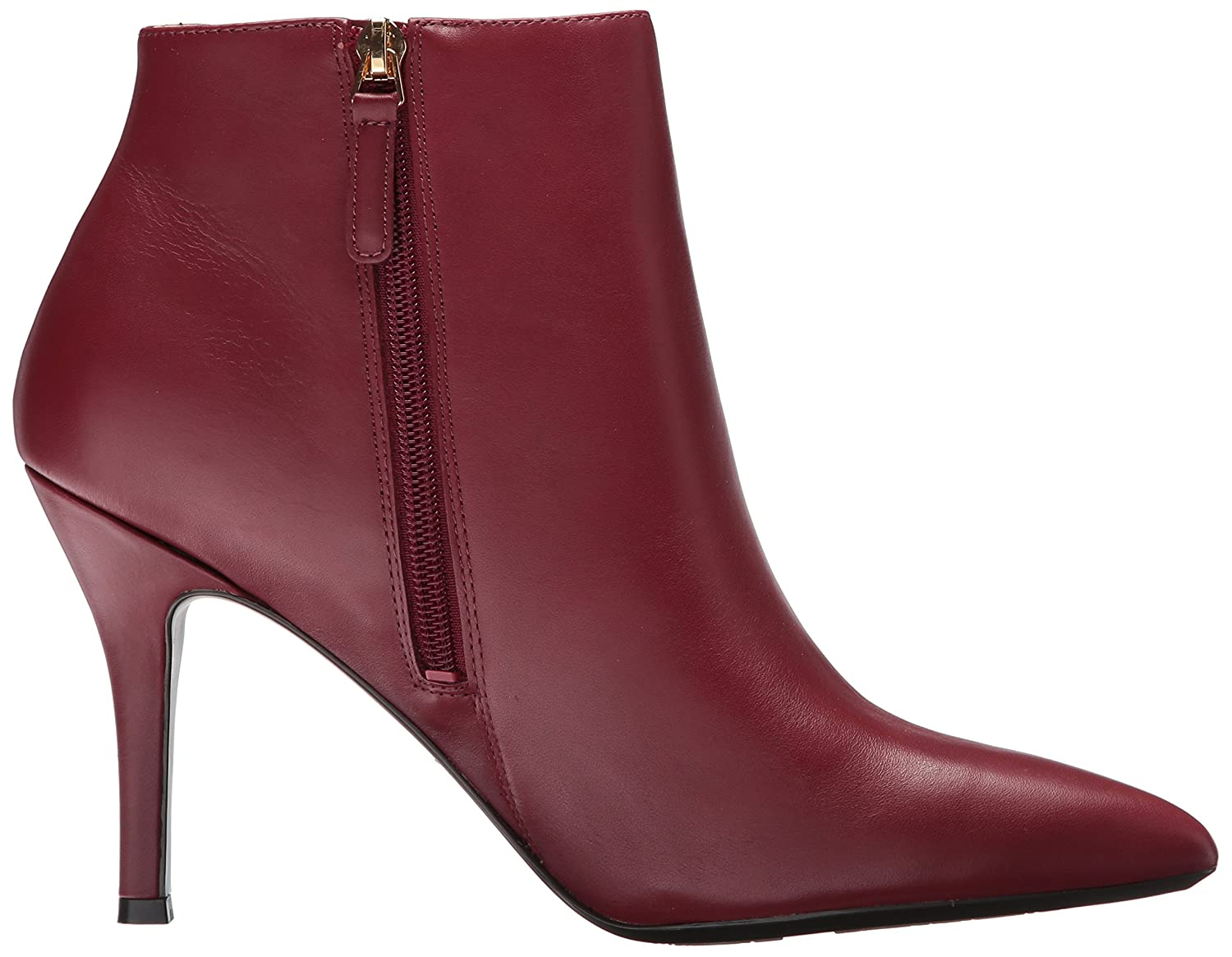 Nine West Women's Front9x9 B07146Y4JM 10 B(M) US|Wine/Wine Leather