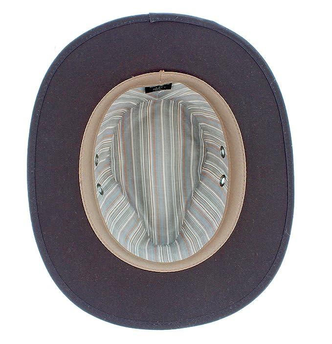 08f7db00460 Failsworth Wax Cotton Drifter Fedora  Amazon.co.uk  Clothing