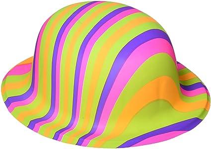 Amazon.com  Amscan 60 s Bowler Party Hats 017468cc129