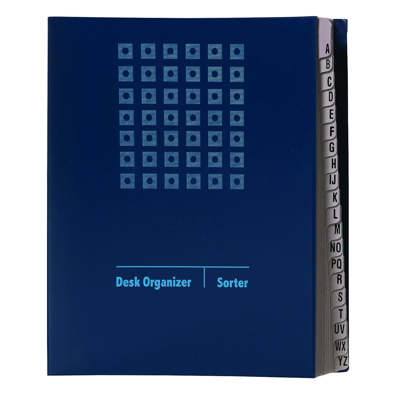 Smead Desk File Sorter, 31 Dividers, Daily 1-31, Letter Size, Blue (89294)
