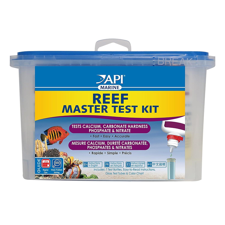 API REEF MASTER TEST KIT Reef Aquarium Water Test Kit 1-Count 402M