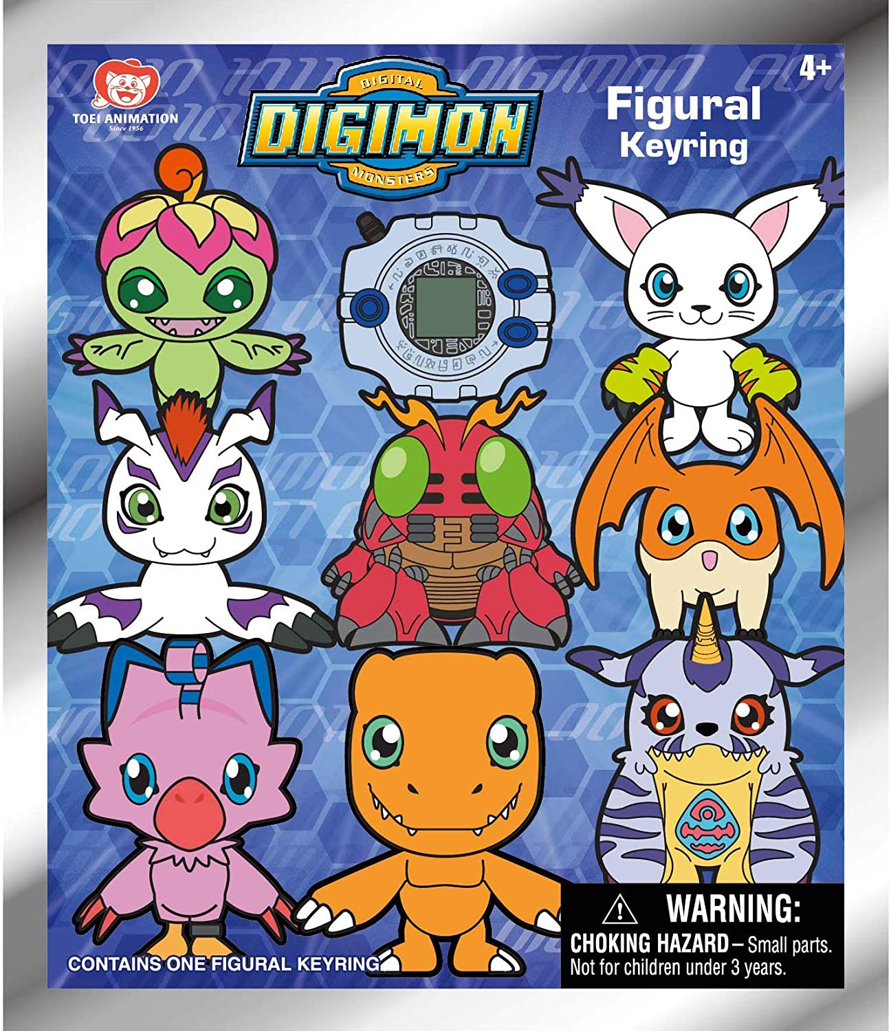 Amazon.com: Toei Animation Digimon 3D Foam Key Ring Blind ...