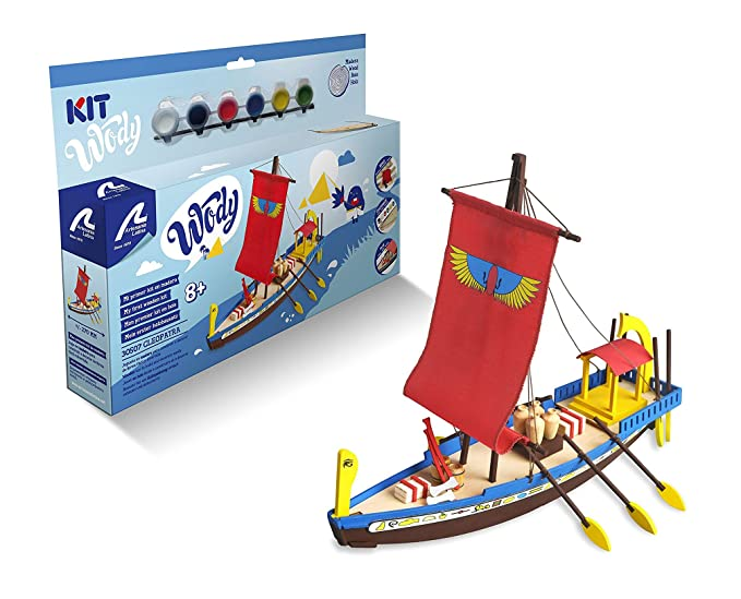 Artesania Latina 30507. Maqueta en madera del barco Egipcio ...