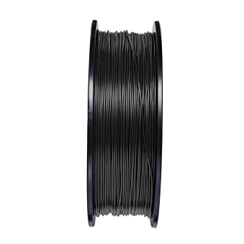 Aifande3Dプリンター用フィラメント(プリント材料)カーボンファイバーほとんどの3Dプリンターと互換性がある造形材料1.75mm1KG(2.2lb)ブラック良質な原材料高精度より高い3Dプリントのニーズを満たすために欠かせないアイテム