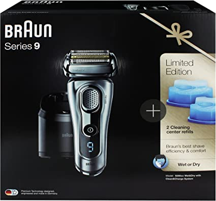 Braun Afeitadora Series 9 Señor 9290 CC Limited Edition Wet & Dry ...