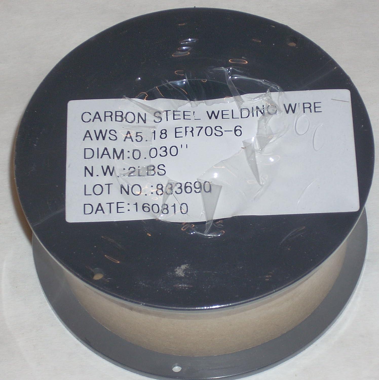 2 Rolls of ER70S-6 Mild Steel Mig Welding Wire 2lb Each .030 Diameter ATL Welding Supply
