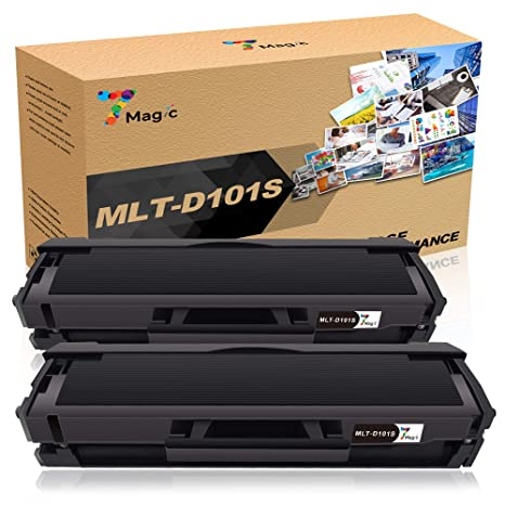 1 Nero 1500 pagine Samsung ML-2160 ML-2165 ML-2168 SCX-3400 SCX-3405 SCX-3405FW SCX-3405F SCX-3405W ML-2161 ML-2162 ML-2164W ML-2165W ML-2168W SF-760P GPC Image MLT-D101S Toner compatibili per D101S