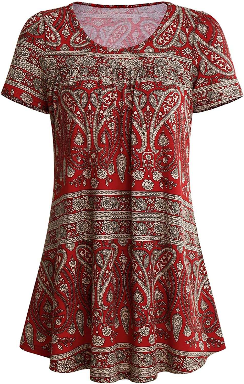 SOLERSUN - Camisas - Túnica - Manga Corta - para Mujer