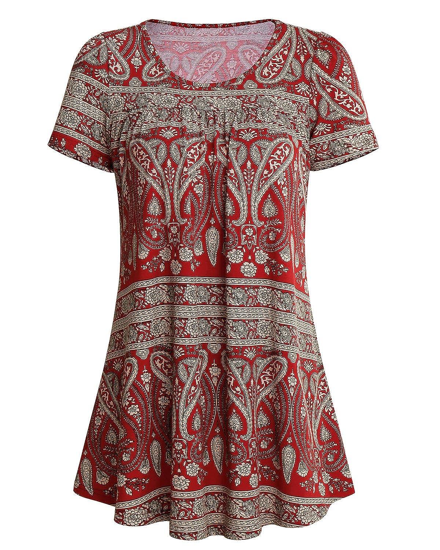 SOLERSUN Camiseta - Túnica - Manga Corta - para Mujer