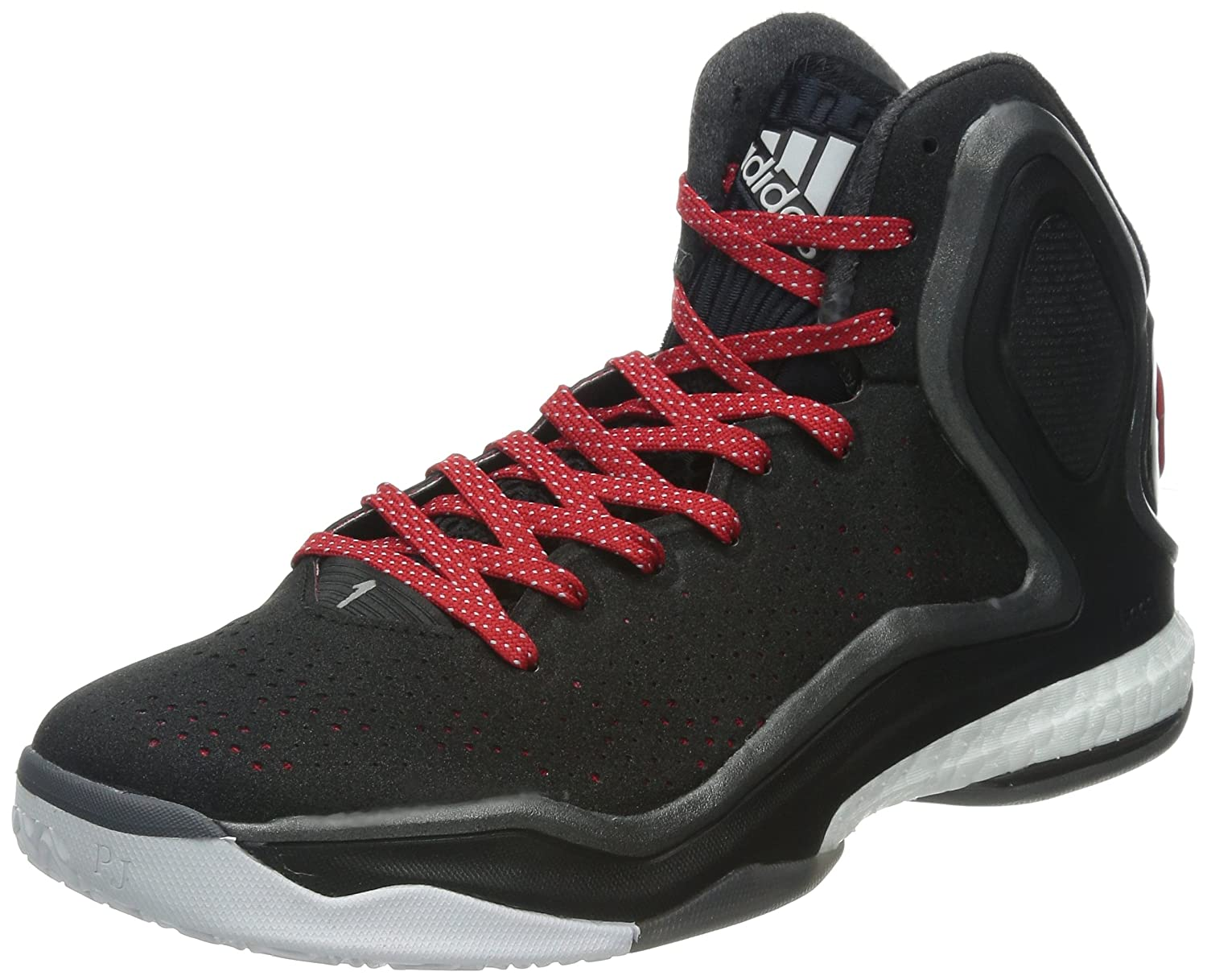 eea3337b07 Amazon.com | adidas D Rose 5 Boost Mens Basketball Sneakers/Shoes-Black-19  | Basketball