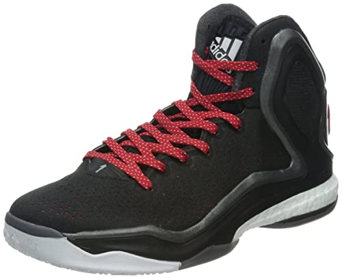 new concept d8ce3 417f6 adidas Performance DERRICK ROSE 5 BOOST Zapatillas Baloncesto Negro Rojo  para Hombre Torsion System  Amazon.es  Zapatos y complementos