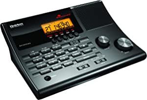 Uniden BC365CRS 500 Channel Scanner and Alarm Clock with Snooze, Sleep, and FM Radio with Weather Alert, Search Bands Commonly used for Police, Fire/EMS, Aircraft, Radio, and Marine Transmissions
