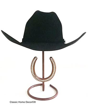 5641f138bdb Image Unavailable. Image not available for. Color  Mark Christopher  Collection American Made Cowboy Hat Stand with Rhinestone Horseshoe CT