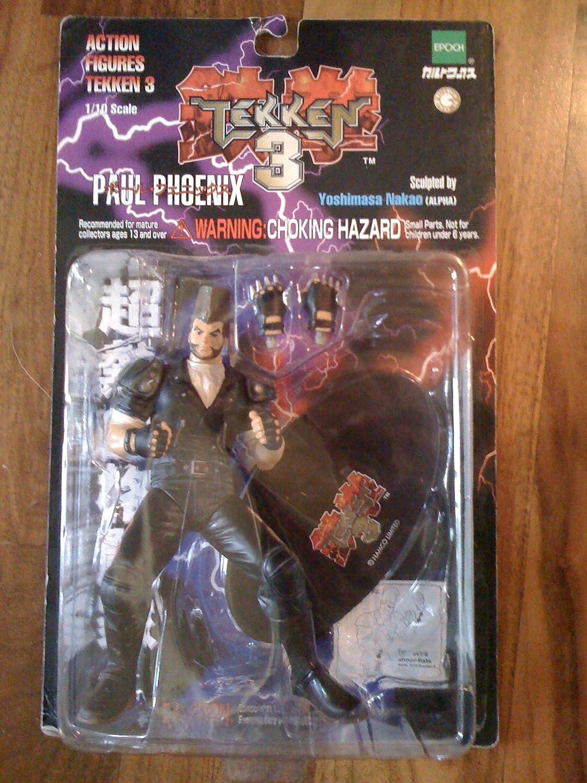Amazon Com Tekken 3 Action Figure Paul Phoenix Toys Games