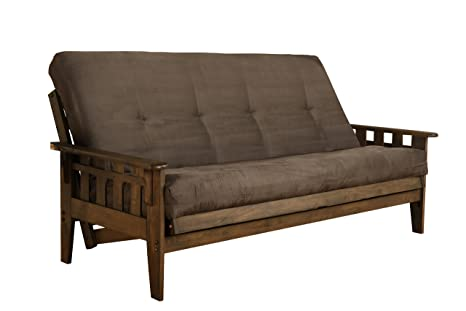 Cool Amazon Com Jerry Sales New Vegas Futon Set Rustic Walnut Camellatalisay Diy Chair Ideas Camellatalisaycom