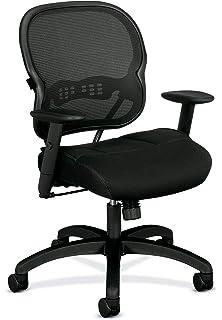 Amazon.com: Basyx by Hon tarea silla, Mesh Back computadora ...