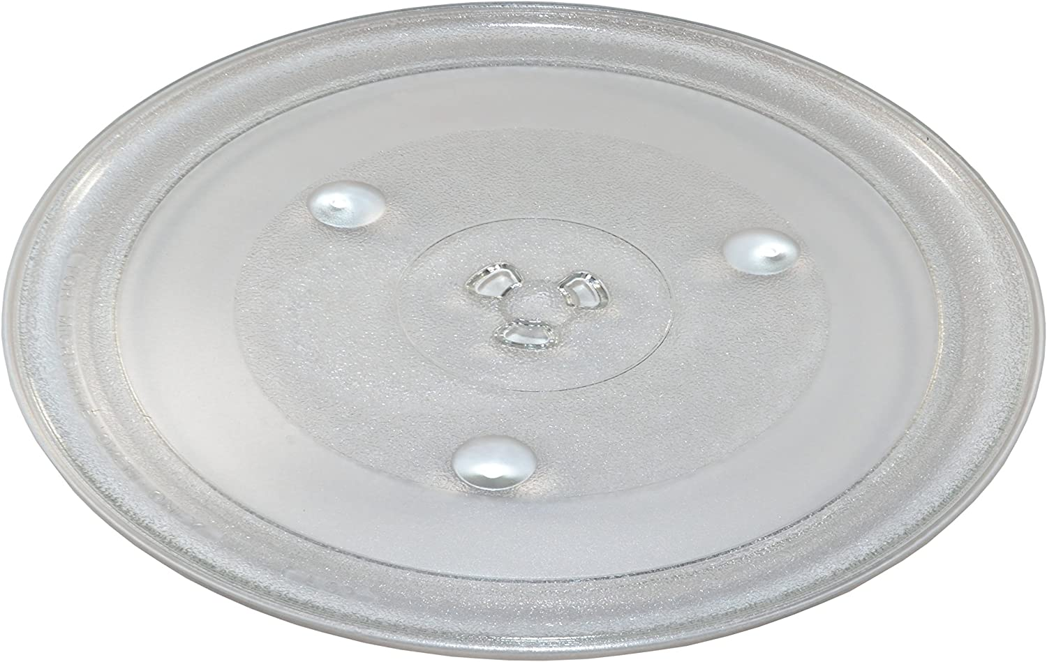 HQRP 12-3/8 inch Glass Turntable Tray compatible with Hamilton Beach P100N30 P100N30AL P100N30ALS3B HBP100N30ALS3 GA1000AP30P3 EM031MZC-X1 Microwave ...