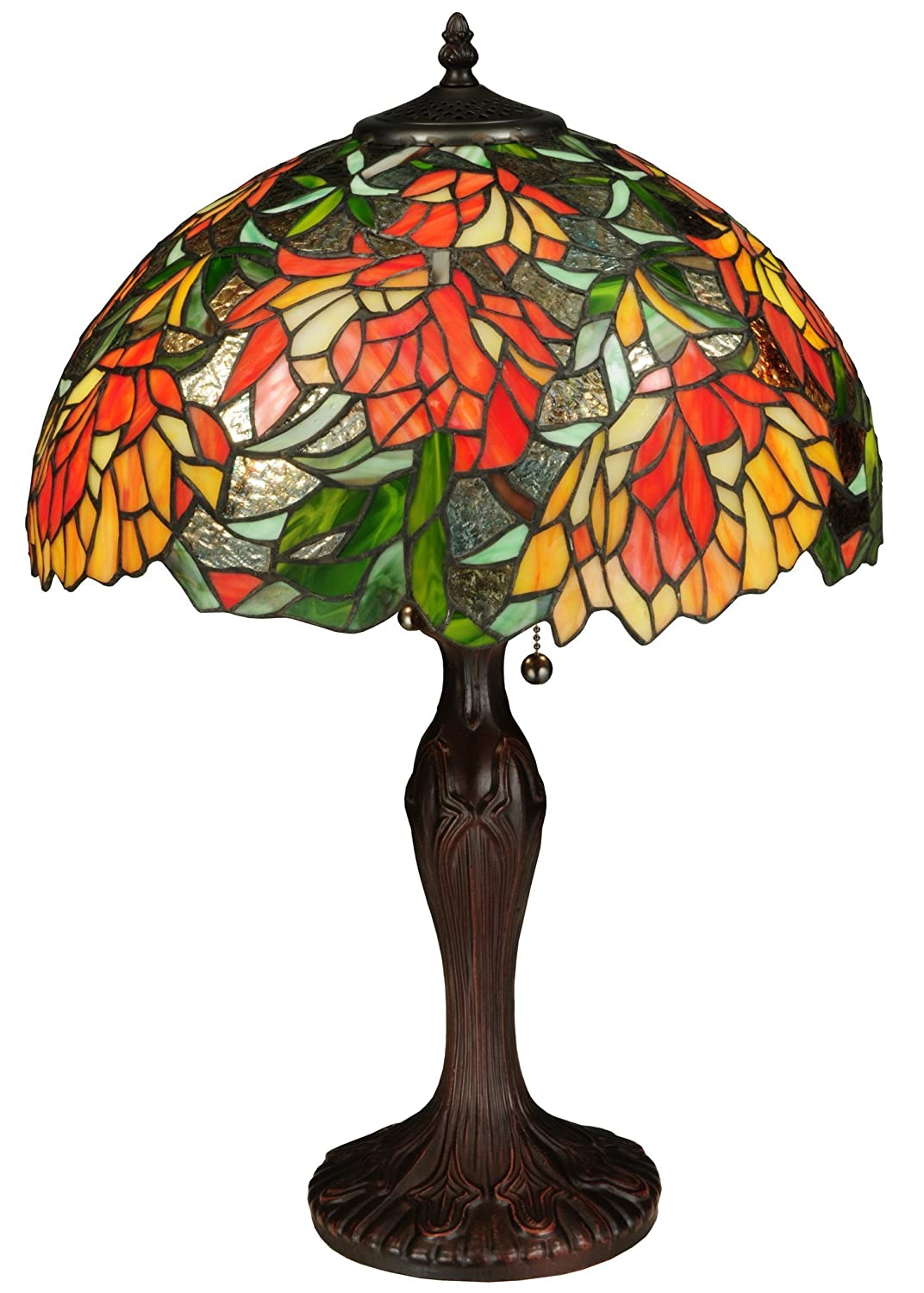 "Amazon.com: Meyda Tiffany 134534 – 23"" H Lamella ..."