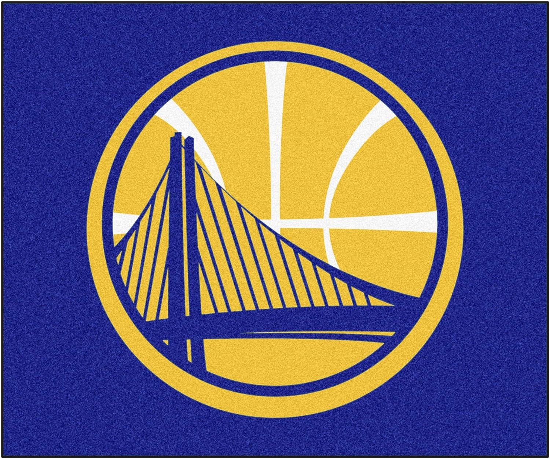 FANMATS 19440 Team Color 33.75x42.5 NBA Golden State Warriors All-Star Mat