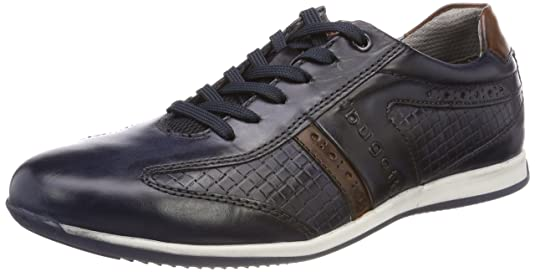 Mens 311450021111 Trainers, Dark Blue/Cognac Bugatti