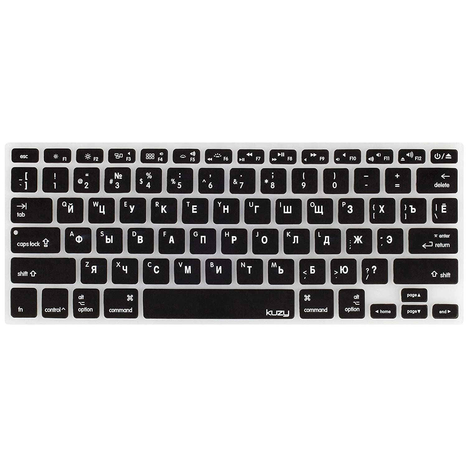 size 40 51013 cfd13 Kuzy - Russian Keyboard Cover for MacBook Pro 13